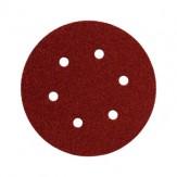 METABO Листы шлифовальные на липучке, зерно 40, диам. 150 мм, 5 шт.