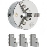 BISON патрон токарный трехкулачковый, чугун, Ø 80, чугун, DIN 6350 3204