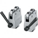 PREISSER Блоки роликовые, контактная поверхность 20мм, T-образный паз 10 H7