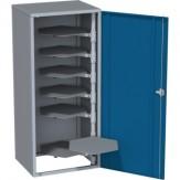 HK Шкаф для шлифов. дисков, 9 кроншт. для 400x125 мм, RAL 7035 / RAL 5010