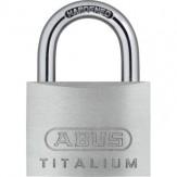 ABUS Замок навесной, серии TITALIUM 54TI/30, разные ключи для каждого замка