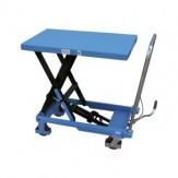 Платформа подъем. ножнич. типа, передв. 150 кг грузопод., RAL 5012 голубой