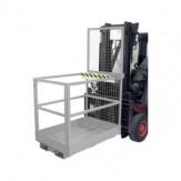 Платформа рабочая, держ. типа MB-D на шир. ст., ДxШxВ 1115x1200x1890 мм, оцинк.