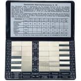 Образцы этал. для изм. шероховатости поверхности для 6 методов обработки