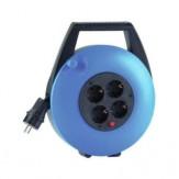 HEDI Бок кабельный, синий, с кабелем ПВХ 10 м, цвет черный