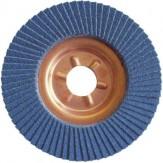 ATORN Круг лепестковый тарельчатый, зерно 36, d 115 мм, основание металл