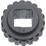 BILZ Вставка с квадратным отверстием, размер 0 3,4 мм