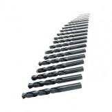 ATORN Набор сверл, тип N, HSS, 5xD, DIN 338, Ø 1,0–5,0 мм, шаг 0,1 мм