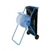 Рулонная стойка для бумажных полотенец, металлический/синий