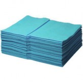 Multitex Салфетки, синие, 40 шт. в упаковке, 38 x 34 см