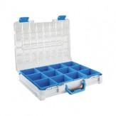 SORTIMO T-BOXX STB 321 C ШxГxВ 440 x 350 x 80 мм со вставками, C3, синего цвета