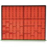 HK Набор вставок, 800 B, 4 емкости, от 40 мм