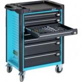 HAZET Тележка инструм., Assistant, модель 179-6 с 6 полн.выдвиж.ящиками