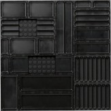 AQURADO Набор для орг., 21 эл., разм. коврика ШxГ 576x576 мм, высота кор. 24 мм