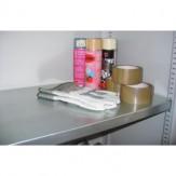 Полка оцинкованная для шкафа шириной 1000 мм и глубиной 400 мм