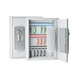 Шкаф для ключей с электронным замком и цифровым кодом, с 21 крючками для ключей