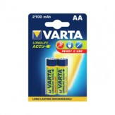 VARTA Акк. RECHARGEABLE POWER mignon 1,2 В 2100 мАч ник.-мет. гидр., 2 шт. в уп.