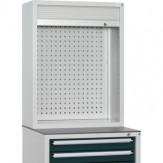 HK Шкаф с перф. панелью и жалюзи разм.: ВхШхГ 955 x 722 x 230 мм, цвет