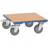 KF 6 Платформа роликовая для ящик., дерев. погр. площ. 500x500 мм, 400 кг