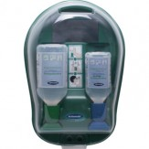 GRAMM Мед. установка для промывки глаз с 500 мл NaCl и 250 мл BioPhos, стер.
