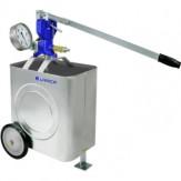 URACA Насос опрессовочный HP 32-8 передвижная емкость и датчик давления