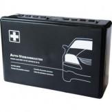 Аптечка первой помощи, цвет серый, укомплектована в соответствии с DIN 13164