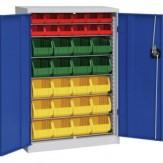 HK Шкаф стеллажн.с двер., мод. 1 с ящиками для открытого хранения