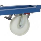 дополнительная плата за 1 управляющее колесо с фиксатором направления