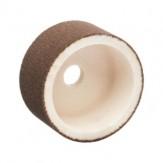 ORION Круг шлифовальный чашечный, 80x40x20 мм, белый корунд, зерно 60