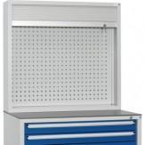 HK Шкаф с перф. панелью и жалюзи разм.: ВхШхГ 955 x 1022 x 230 мм, RAL 7035