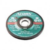 ATORN Диск зачистной для обработки цветных металлов, 115 x 7,0 x 22,2 мм