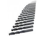 ORION Сверла спиральные (наб.) HSS DIN 338, 1,0-13,0 мм шаг 0,5 мм