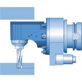 Головка фрезерная угловая 90° WWX05, SK40, с отводом назад