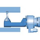 Головка фрезерная угловая узкой конструкции, 90° WGX05, SK50
