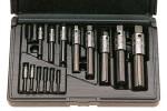 WALTON Экстракторы для метчиков с 4 пазами (наб.) Разм. 2 M 4-M22 в пластм. футл.