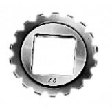 BILZ Трещетка универсальная, 4-гран. вставка Разм. 0 3,4 мм