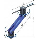 ATORN Упор для детали с  установочной шпонкой для T-образных пазов 12 и 14 мм