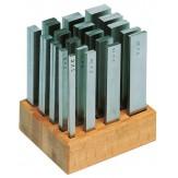ORION Подкладки параллельные 2 - 24 мм, длина 100 мм