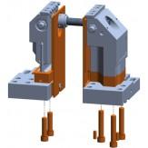 ATORN Накладки на губки для увелич. рабоч.зоны 3AX100 высота 125 мм
