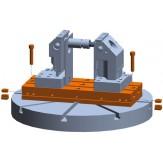 ATORN Плита монтажная 400x160x50, Крепление шириной 14 мм