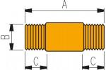 ENERPAC Элемент соединительный удлинняющий FZ 1619 для высокого давления