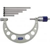 ORION Микрометр со скобой 0 - 150 мм, цена деления шкалы 0,01 мм, со сменными упорными насадками