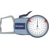 KROEPLIN Кронциркуль D110, диапазон измерения 0-10 мм, цена деления шкалы 0,005 мм, IP65, для измерений наружных размеров