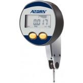 ATORN Индикатор рычажный электронный,  диапазон изм. 0,8 мм, шаг дискретности 0,001 мм, длина измер. щупа 12,5 мм