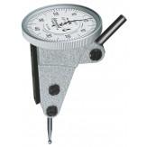 INTERAPID Индикатор рычажный 37,5 мм,  диапазон изм. 1,6 мм, шаг дискретности 0,01 мм, перпендикулярный Длина измер. щупа 16,5 мм