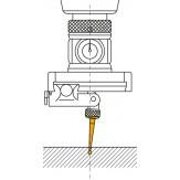 Вставка контактная прямая, шарик d 1,6 мм