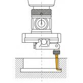 Вставка контактная угловая, шарик d 2,5 мм