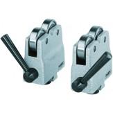PREISSER Блоки опорные роликовые, d опорной поверхности 20 мм T-образный паз 10 H7