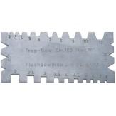 ORION Шаблон для резьбовых резцов для прямоугольной и трапецеидальной резьбы
