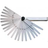 ORION Щупы (наб. из 8 пластин) 0,05 - 0,5 мм складываются в никелированный держатель, DIN 2275